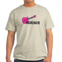 Guitar - McKenzie - Pink T-Shirt