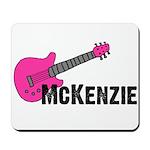 Guitar - McKenzie - Pink Mousepad
