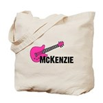 Guitar - McKenzie - Pink Tote Bag