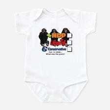 No Point Infant Bodysuit