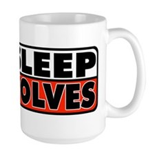 Eat Sleep Red Wolves Mug