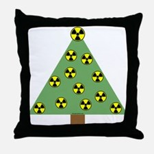 Nuclear Ornaments Throw Pillow
