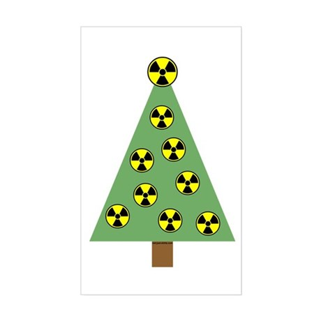Nuclear Ornaments Rectangle Sticker