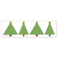 Nuclear Ornaments Bumper Bumper Sticker