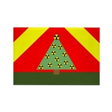 Nuclear Ornaments Rectangle Magnet