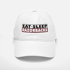 Eat Sleep Razorbacks Baseball Baseball Cap