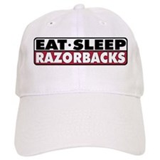 Eat Sleep Razorbacks Baseball Cap