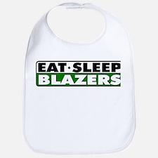 Eat Sleep Blazers Bib