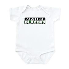 Eat Sleep Blazers Infant Bodysuit