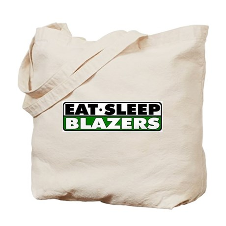 Eat Sleep Blazers Tote Bag