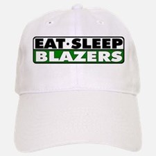 Eat Sleep Blazers Baseball Baseball Cap