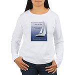 Adjust the sails Women's Long Sleeve T-Shirt