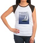 Adjust the sails Women's Cap Sleeve T-Shirt
