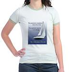 Adjust the sails Jr. Ringer T-Shirt