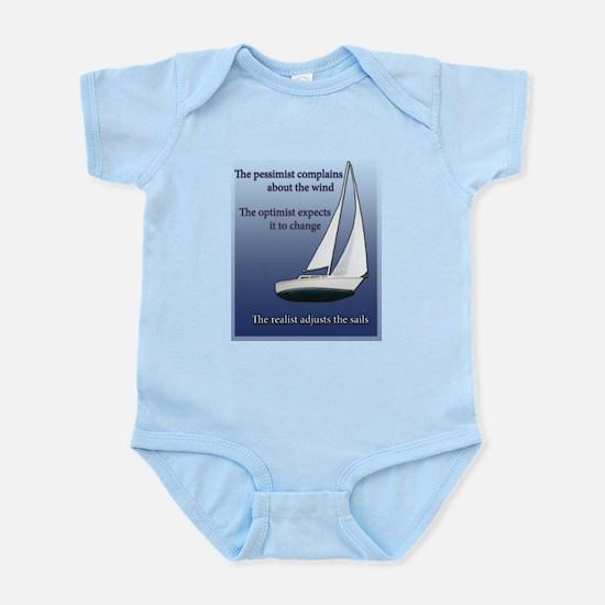 Adjust the sails Infant Bodysuit