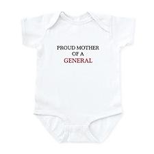 Proud Mother Of A GENERAL Infant Bodysuit