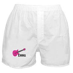 Guitar - Emma - Pink Boxer Shorts