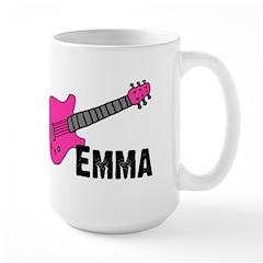Guitar - Emma - Pink Mug