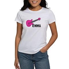 Guitar - Emma - Pink Tee
