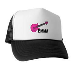 Guitar - Emma - Pink Trucker Hat
