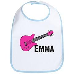 Guitar - Emma - Pink Bib