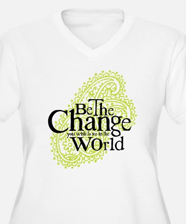 Paisley Green - Be the change T-Shirt