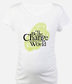 Paisley Green - Be the change Shirt