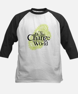 Paisley Green - Be the change Kids Baseball Jersey