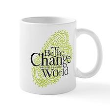 Paisley Green - Be the change Mug