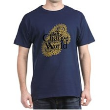 Paisley Peach - Be the change T-Shirt