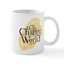 Paisley Peach - Be the change Mug