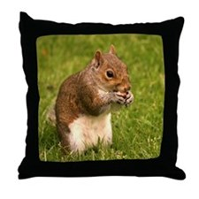 Squirrel Throw Pillow