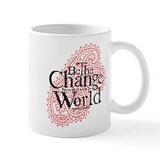 Paisley Pink - Be the change Mug