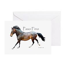 Paso Fino Greeting Card