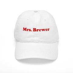 Mrs. Brewer Baseball Cap