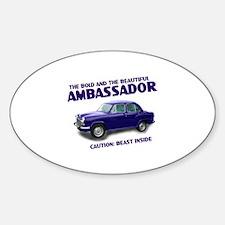 Ambassador Oval Decal