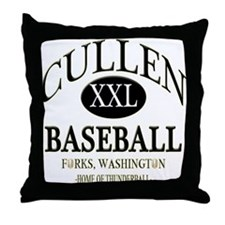 Cullen Baseball Team Shirt Gi Throw Pillow