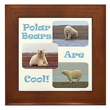 Unique Warm Framed Tile