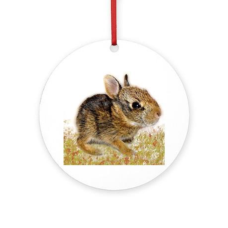 Bunny baby Ornament (Round)