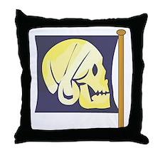 Hoist Ye Flag Throw Pillow