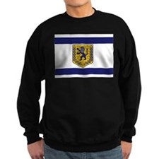 Jerusalem Municipal Flag Sweatshirt