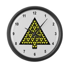 Nuclear Tree Large Wall Clock