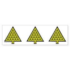 Nuclear Tree Bumper Bumper Sticker