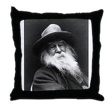Walt Whitman Throw Pillow