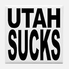 Utah Sucks Tile Coaster