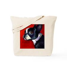 Unique Boston terrier Tote Bag