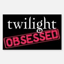 Twilight Obsessed Rectangle Decal