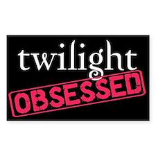 Twilight Obsessed Rectangle Sticker 10 pk)