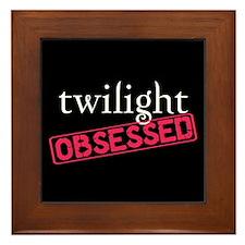 Twilight Obsessed Framed Tile