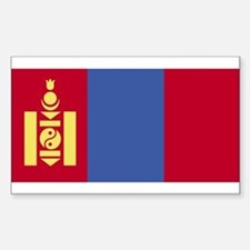 Mongolia Rectangle Decal